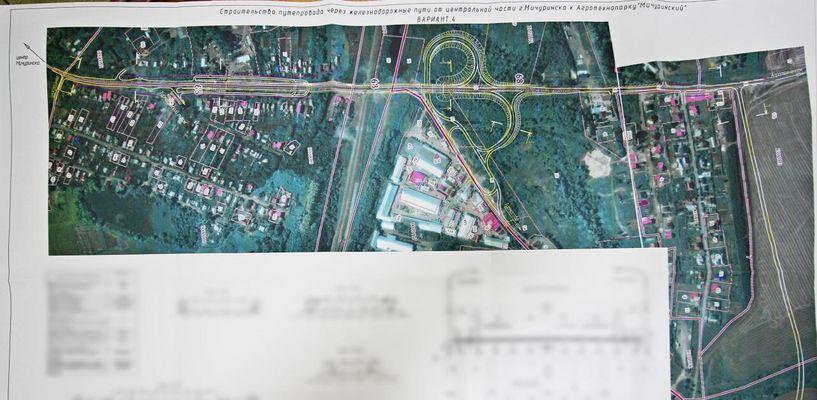 В Мичуринске построят путепровод, который обойдётся в 1 миллиард рублей