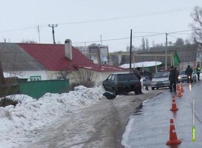 Пьяный тамбовчанин на своем авто сбил пенсионерку