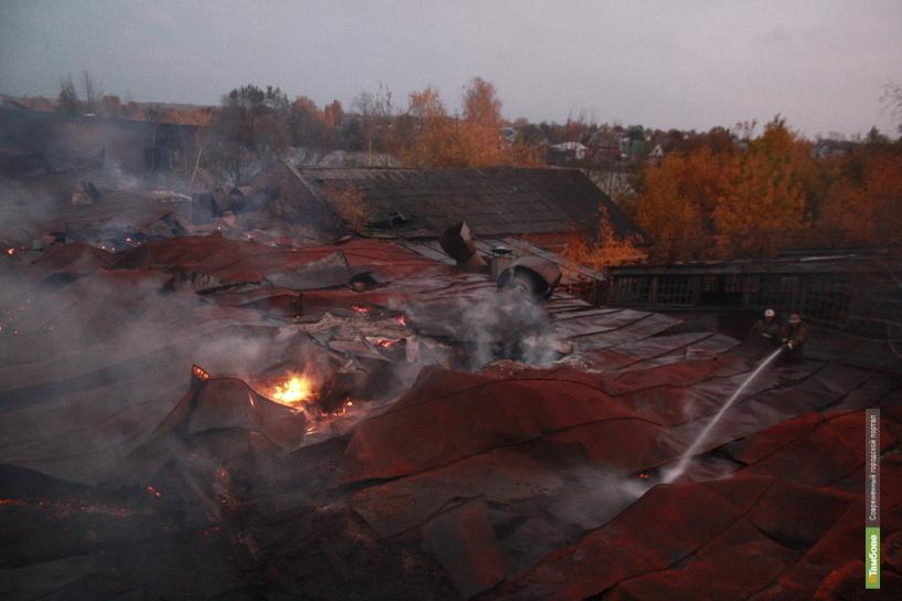 Тамбовские пожарные за сутки четыре раза выезжали на вызов