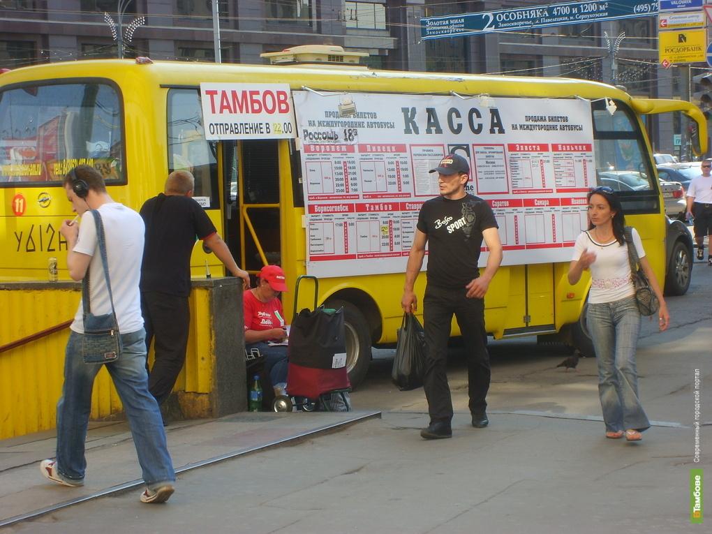 Автобусам «Тамбов-Москва» запретят въезд в столицу
