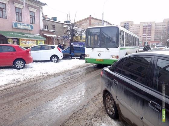В центре Тамбова выделят полосу для общественного транспорта