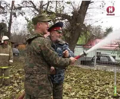 Казаки вступили в добровольную охранную дружину Тамбова
