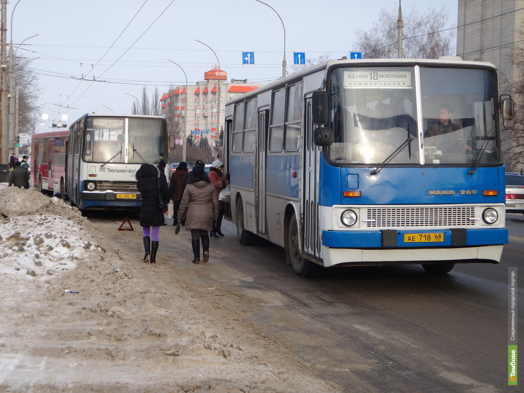 В Крещенскую ночь в Тамбове будет ходить общественный транспорт