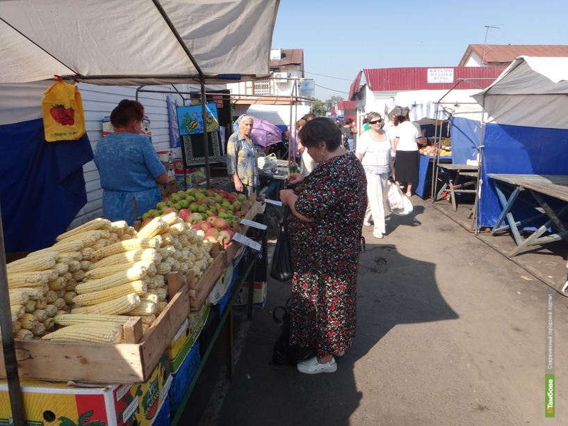 Крытые рынки могут появиться в Тамбове уже в следующем году