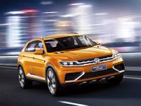 В Сеть попали снимки прообраза будущего Volkswagen Tiguan
