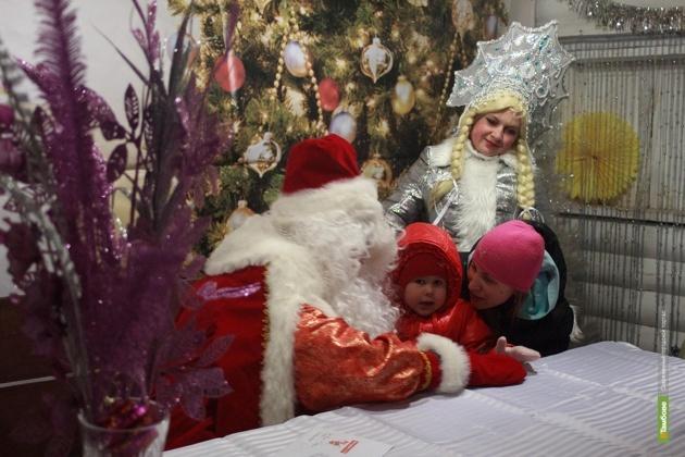 В Тамбове Деда Мороза и Снегурочку отправили в больницу