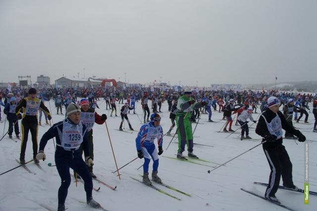Водители Тамбова пропустят лыжников на дороге