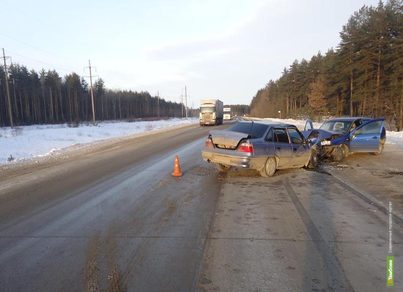 Три человека пострадали в ДТП на трассе Тамбов-Пенза