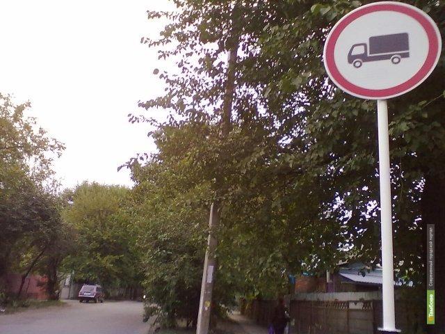 Большегрузам запретят ездить по Тамбову в День Победы