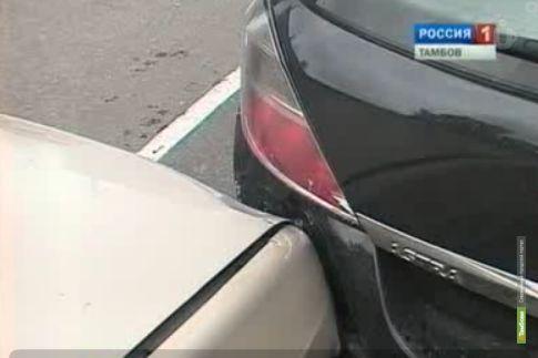 В Тамбове столкнулись три машины