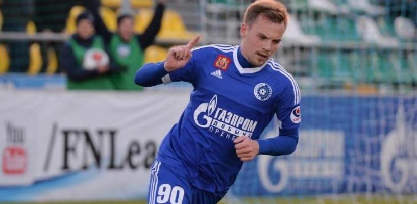 ФК «Тамбов» взял в аренду нападающего из оренбургской команды