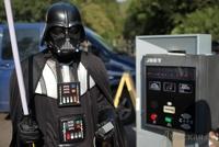 В Одессе с нелегальными парковками борется Дарт Вейдер