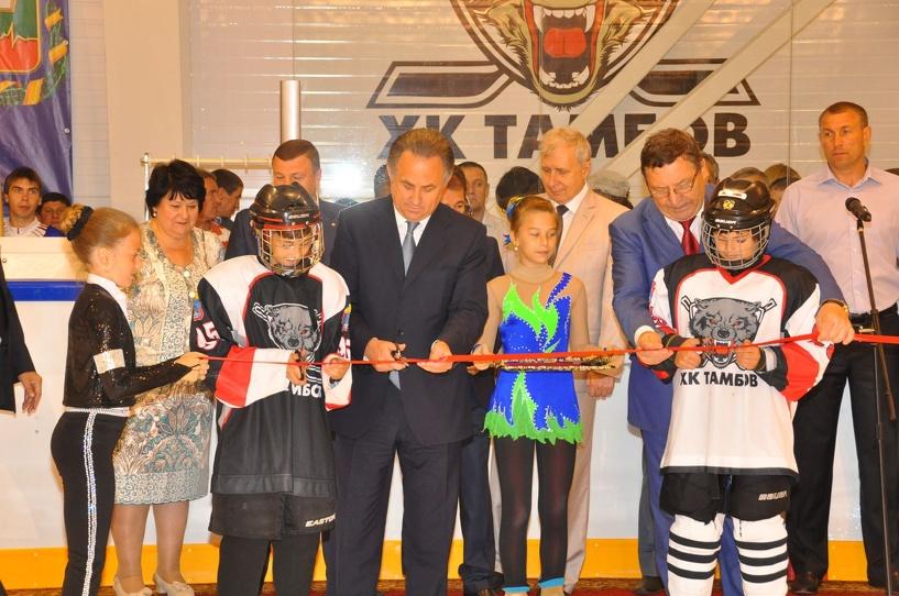 За год на строительство спортобъектов в Тамбовской области потратили свыше 1,24 миллиарда рублей