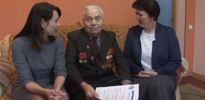Тамбовским ветеранам вручили сертификаты на улучшение жилья