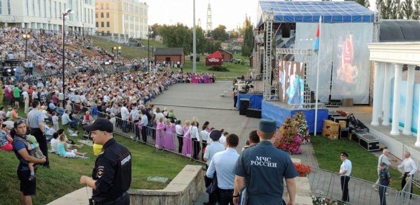 Фестиваль «Песни над Цной» прошёл без ЧП
