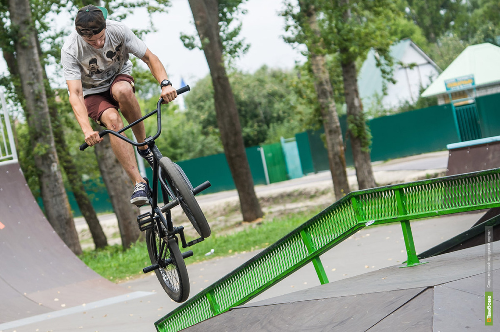 В Тамбове пройдут соревнования по велоспорту-BMX
