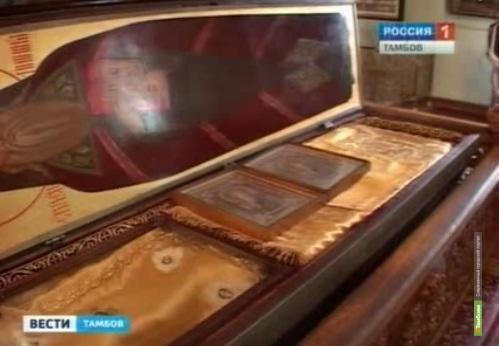 Байкеры из Тамбова повезли на байк-шоу иконы