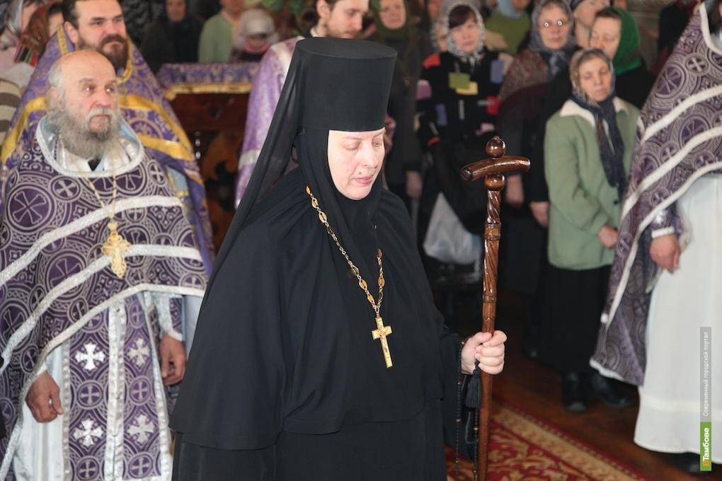 Настоятельница тамбовского монастыря возведена в сан игумении