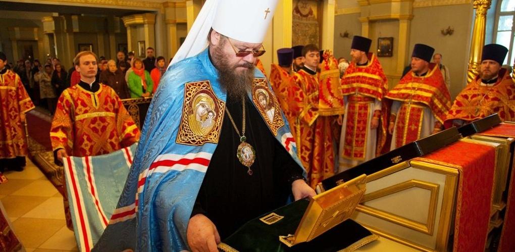 В Тамбов прибыли мощи святой Матроны Московской