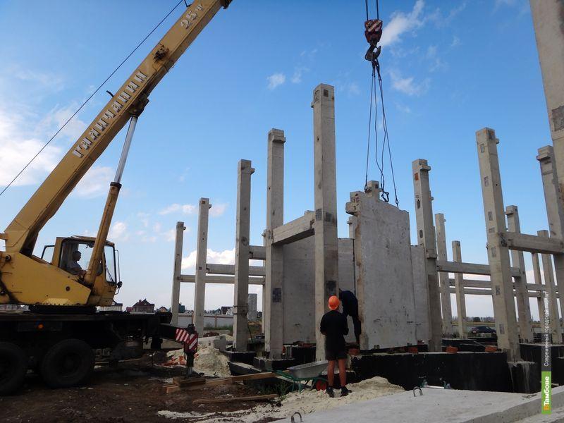 До конца строительства в Тамбове новой ПЧ осталось 108 дней