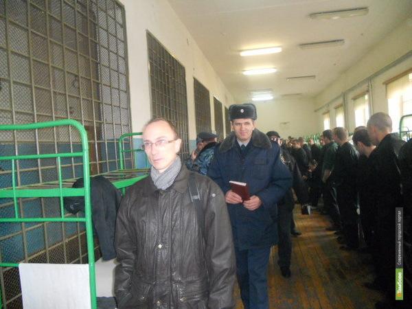 Комиссия проверяет условия содержания заключенных на Тамбовщине