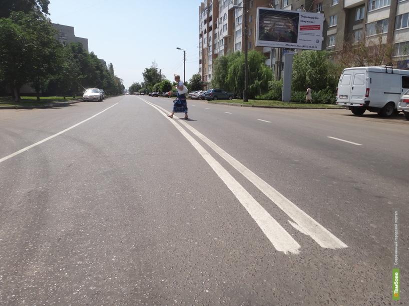 Тамбовские автолюбители нарушают ПДД, возвращаясь домой
