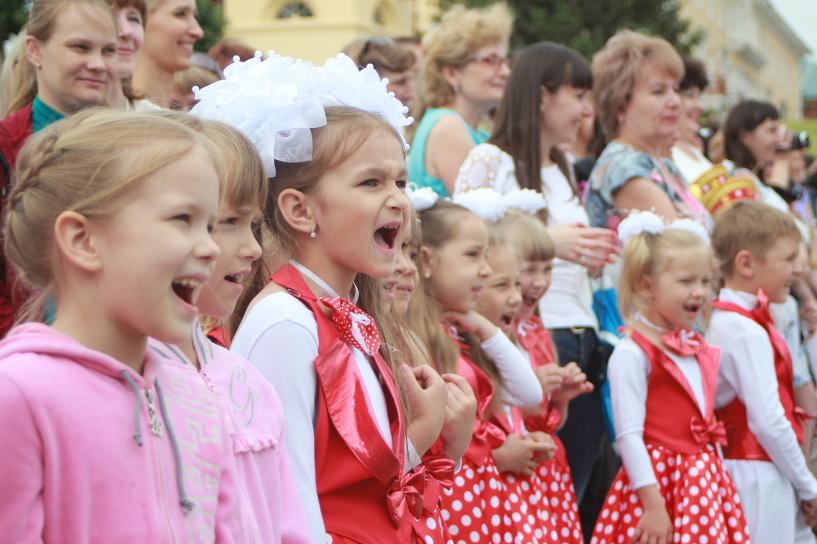 Юные тамбовчане принимают участие в фестивале детской песни