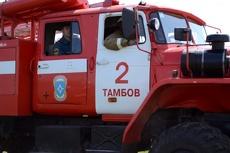 Женщина пострадала при пожаре в Сосновке
