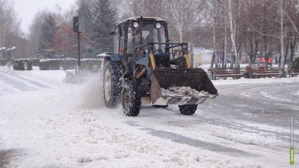 Тамбовских чиновников наказали рублем за «снежные» дороги