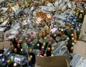 В Мичуринске пресекли торговлю контрафактным алкоголем