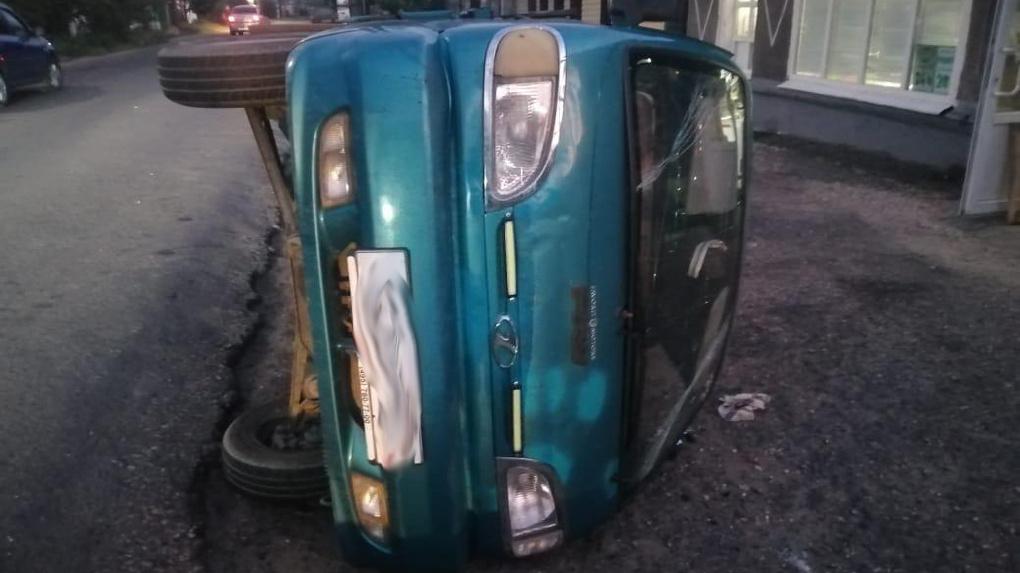 В Мичуринске подросток на мотоцикле врезался в грузовик