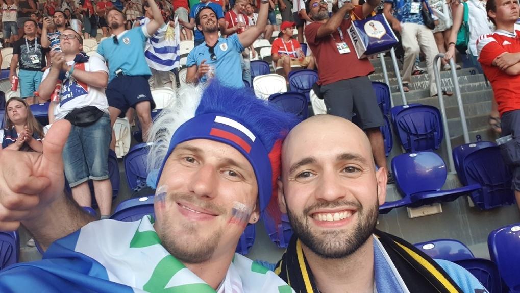 «Жду, что наши достойно проиграют»: тамбовчанин приехал из Самары и отправится на матч России с Испанией