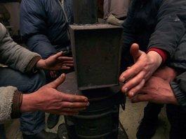 На трассе М-6 «Каспий» согреют замерзающих