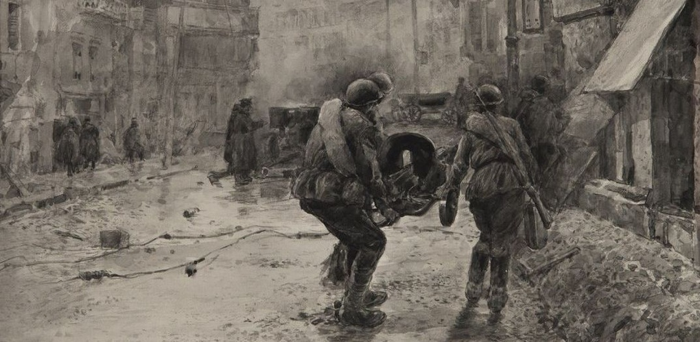 В честь Дня Победы в картинной галерее откроется выставка военной графики