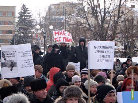 Тамбовские оппозиционеры готовы съездить в Астрахань за счет Собчак