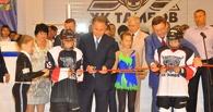 В Мичуринске торжественно открыли новый крытый каток