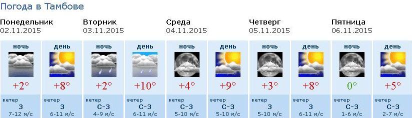 раз попал яндекс погода тамбов на неделю топ-менеджменте русской