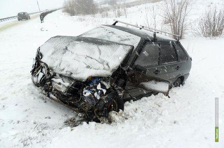Пассажирская «газель» попала в ДТП под Тамбовом