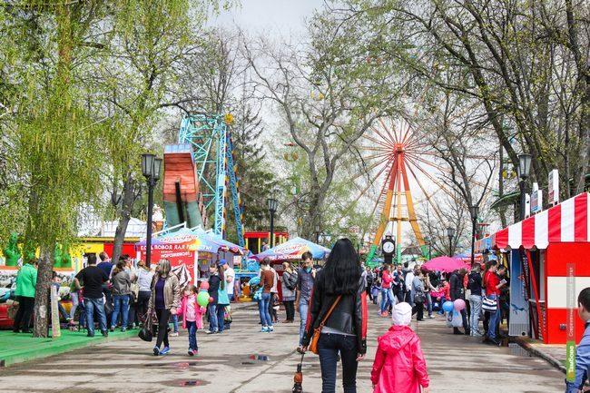 В парке культуры и отдыха «открыли лето»