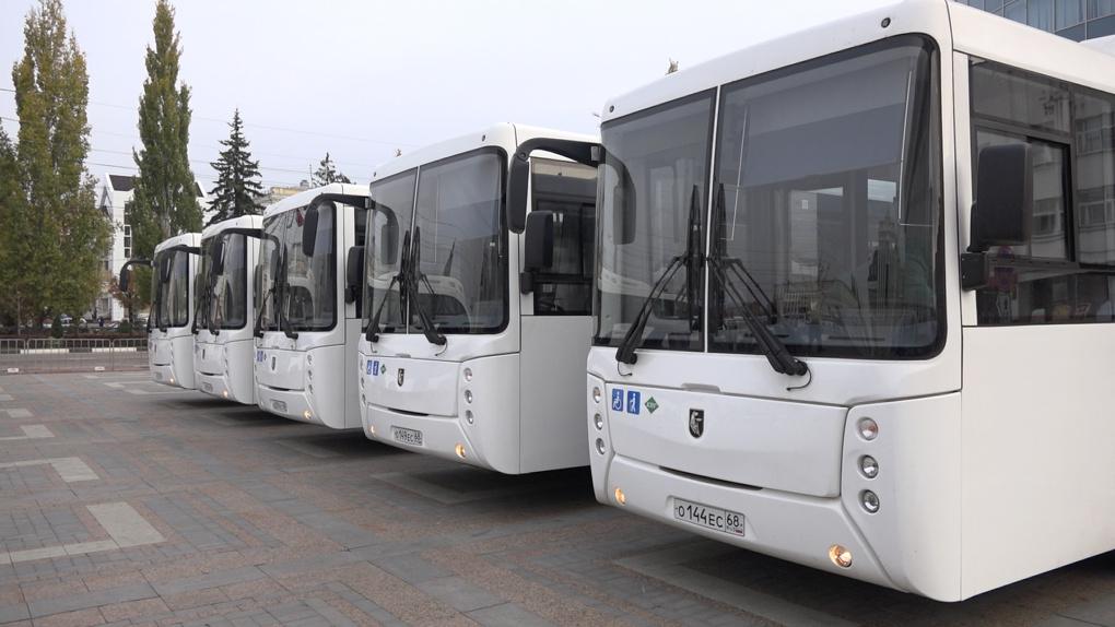 Тамбовским перевозчикам предлагают взять в лизинг пассажирские автобусы в рамках нацпроекта «БКАД»
