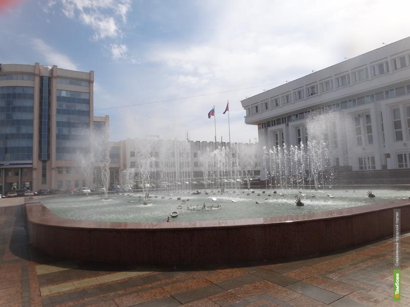 Тамбовские фонтаны работают в штатном режиме