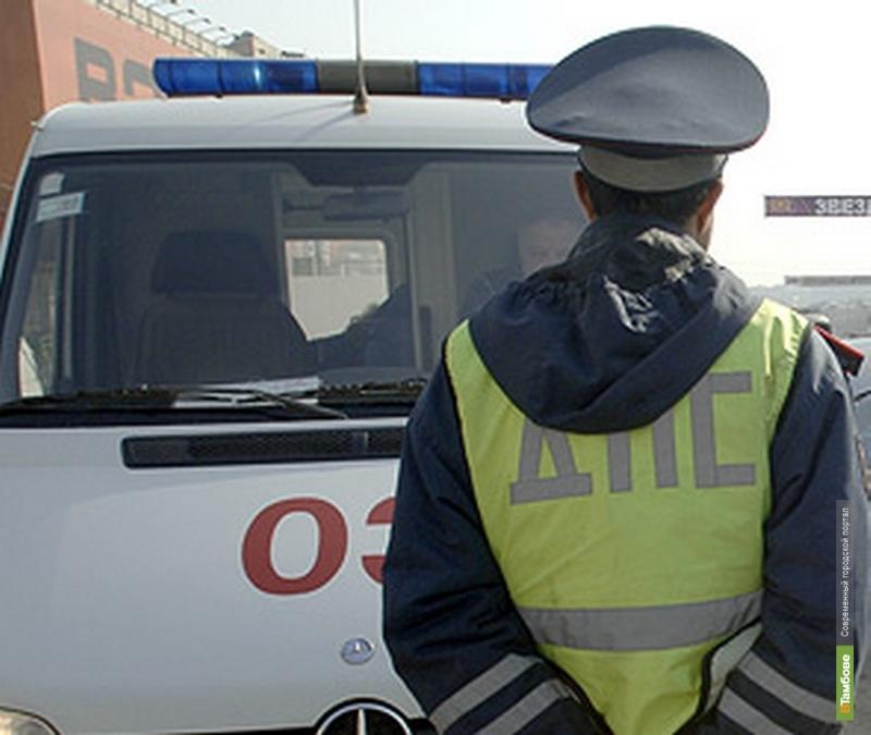 В Тамбове в ДТП пострадала молодая мотоциклистка