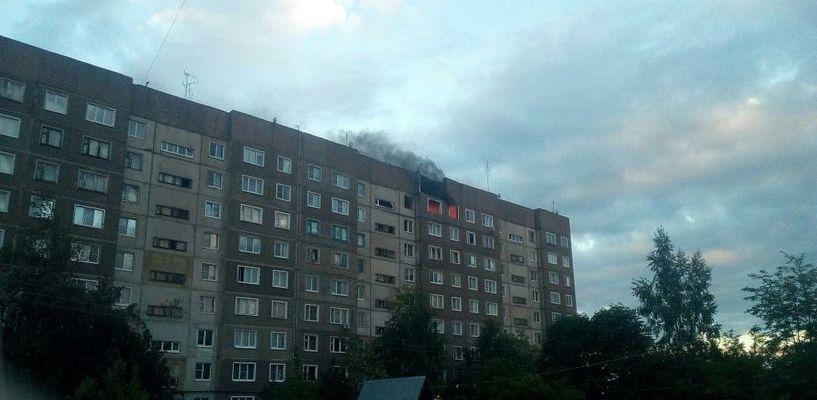 Пожар в моршанской девятиэтажке: эвакуировали свыше 200 жильцов