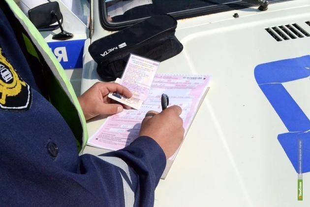 За неповиновение ДПС тамбовчанина посадили за решетку на неделю