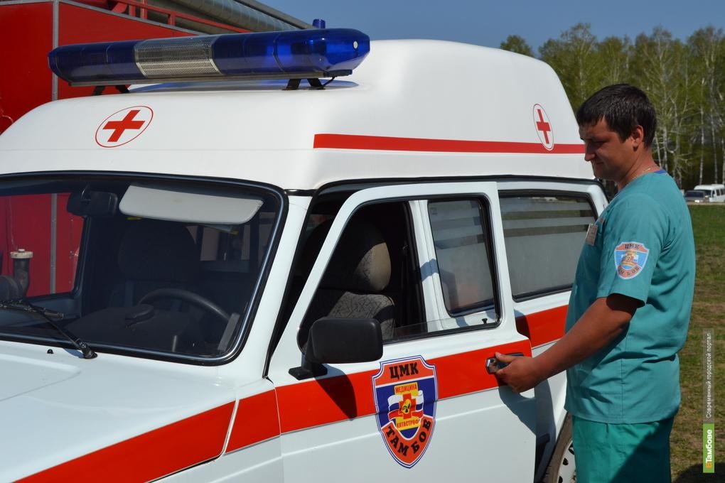За неделю на Тамбовщине в ДТП пострадали пять детей