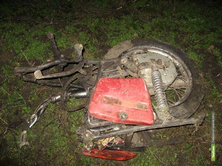 Мотоцикл убил двух молодых тамбовчан