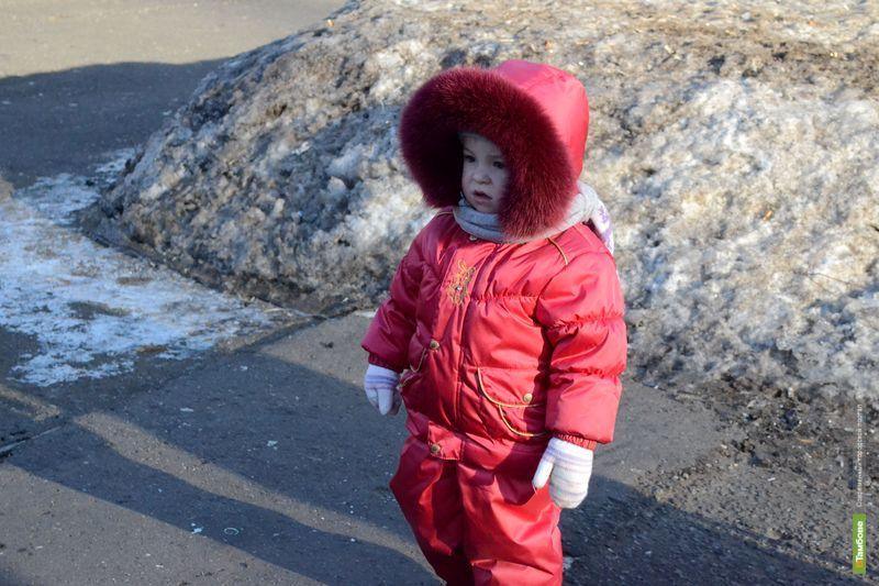Ближайшие два дня в Тамбове продлятся аномальные холода
