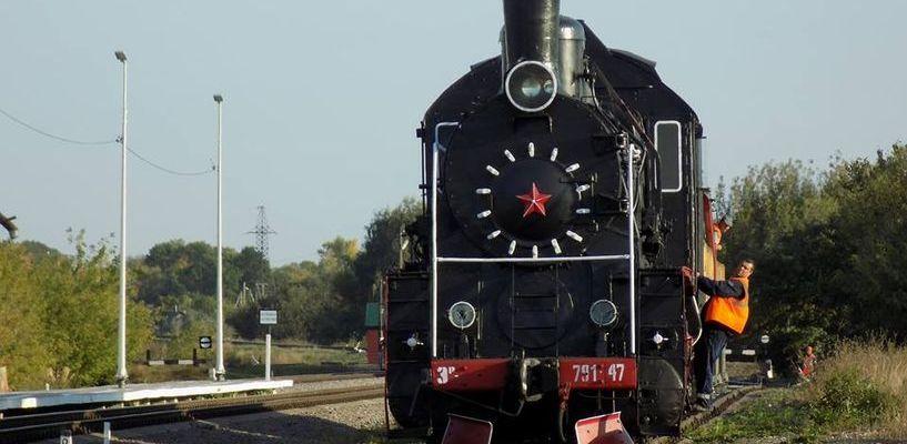 Вокзал Мучкапа украсит раритетный паровоз