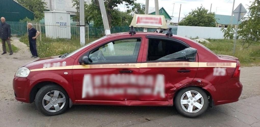 Ученица автошколы попала в ДТП в Знаменке