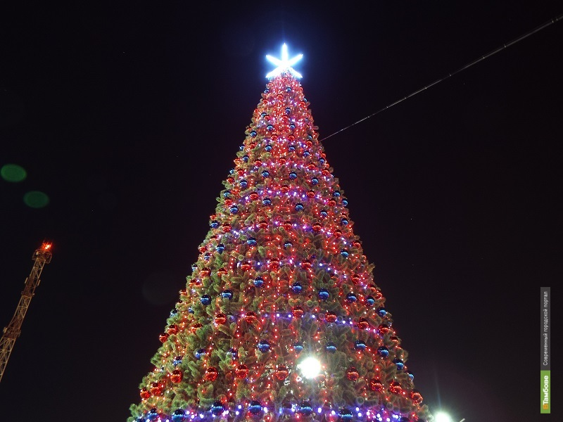 На севере Тамбова повеяло Новым годом